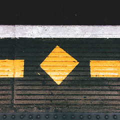 174/366 (abnormalbeauty.) Tags: underground tube yellowline mindthegap london platform floor everyday
