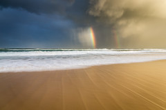 Rainbow, Pippi Beach (Duncan Fawkes) Tags: australia nsw yamba beach pippi sea wave