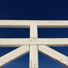未 (zecaruso) Tags: mondello palermo staccionata fence cielo sky iphone6s zecaruso zeca ze ze² zequadro cicciocaruso