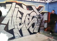METEOR by Revers US, HTK (Jonny Farrer (RIP) Revers, US, HTK) Tags: graffiti bayareagraffiti sanfranciscograffiti sfgraffiti usgraffiti htkgraffiti us htk revers rvs devo voidr voider reb halt