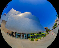 Walt Disney Concert Hall, Dorothy Chandler Pavilion, Downtown Los Angeles, HDR, 15 March 2016 (SDSk8r) Tags: losangelescountycities losangelescounty americanstates californiacounties losangeles downtownlosangeles areasinlosangeles buildingsindowntownlosangeles waltdisneyconcerthall hdr typeofimage performingartsvenues california unitedstates dorothychandlerpavilion countries dtla us