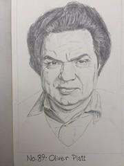 No89: Oliver Platt (Dame Warden) Tags: portrait drawing oliver platt