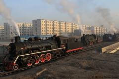 I_B_IMG_9138 (florian_grupp) Tags: asia china steam train railway railroad fuxin liaoning sy coal mine 282 mikado steamlocomotive locomotive