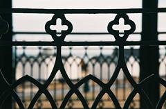 The Strand - Walmer, Kent (35mm) (jcbkk1956) Tags: deal walmer bandstand canon eos5 autofocus sigma agfa200 railings beachhuts bokeh slr analog film kent dof thestrand 70210mmf456 ornate