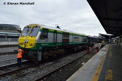 223 at Heuston, 19/9/16 (hurricanemk1c) Tags: railways railway train trains irish rail irishrail iarnród éireann iarnródéireann dublin heuston 2016 generalmotors gm emd 201 223 1105heustoninchicore