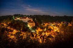 Sleepy little town in moonlight shadow - Haigerloch, Germany (Eric Steinbrcker) Tags: canon sony alpha 7 r ilce7r ilce7 deutschland germany baden wrttemberg ef 1635mm f4l is usm castle hohenzollern schloss