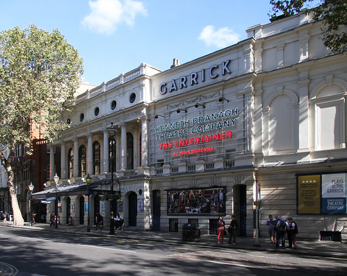 The Entertainer at the Garrick