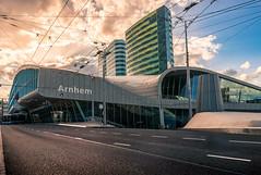 Arnhem Centraal (wouterverhoeven) Tags: arnhem centraal central station 28mm sony a7ii holland sunny street