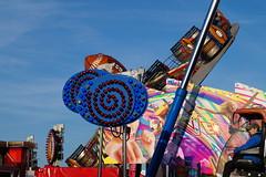 DSC02252 (A Parton Photography) Tags: fairground rides spinning longexposure miltonkeynes fireworks bonfire november cold