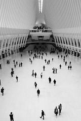 Oculus (Boris Peters Arnhem) Tags: new york black white canon 70d oculus wtc one onewtc architecture metro subway nyc ny usa america