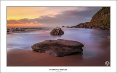 Stepping Stones (John_Armytage) Tags: forrestersbeach centralcoast nsw australia sunrise seascape sonya7r2 sony1635 nisifilters johnarmytage