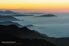 Albizzia julibrissin mountain, Taiwan  ( (Morris)) Tags: blue orange     tw     nikon d7100 taiwan                  cloud sky     108k   ngc sunset     yellow green  car oldstyle