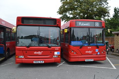 Abellio London 8448 RD02BJO & 8470 HX04HTV (Will Swain) Tags: fulwell depot 17th september 2016 greater london capital city south east bus buses transport travel uk britain vehicle vehicles county country england english twickenham abellio 8448 rd02bjo 8470 hx04htv