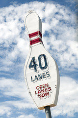 Bowling3 Ready (Guy dicarlo) Tags: bowl adertisement advertisement alley americana background blue bowling bowlingalley bright clouds color concept entertainment fun game hobby lane lanes light neon pastime pin red retro sign signage sky sport sunny vintage