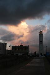DSC_0690 (Becci12.07) Tags: nordwijk an zee holland niederlande strand meer sonne kurzurlaub leuchtturm himmel wolken