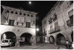 Ajuntament dHorta (steelmancat) Tags: bw bn horta sant joan street carrer plaa place square urban rural terra alta catalunya