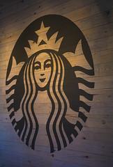 Starbucks (adamopal) Tags: canon canon5d canon5dmkiii canon5dmarkiii starbucks starbucksjacksonhole jacksonhole jacksonholewyoming jacksonholewy visitwyoming visitwy green brown