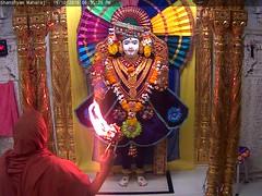 Ghanshyam Maharaj Sandhya Darshan on Wed 19 Oct 2016 (bhujmandir) Tags: ghanshyam maharaj swaminarayan dev hari bhagvan bhagwan bhuj mandir temple daily darshan swami narayan sandhya