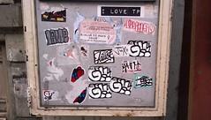 Paris (I LOVE TP) Tags: autocollant combo sticker stickers stickerart street art streetart paris graffiti ilovetp gkay faust ciser cizer glc