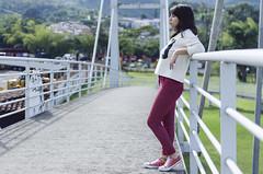 Lina (JDLenisC) Tags: women puente portrait retrato colombia pereira
