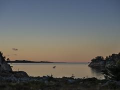 Oktoberlaurdag (Halvor Skurtveit) Tags: sotra bt sj sea hav sunset solnedgang kveld haust fall autumn