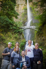 P8300316 (jbrownell) Tags: mist longexposure summer bridge columbiariver waterfall gorge multnomahfalls