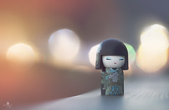 tokyo night life (rockinmonique) Tags: kimmidoll miniature doll macro bokeh night evening pretty girly soft ethereal moniquew canon canont6s helios442 copyright2016moniquewphotography