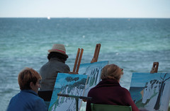 Painters - Baltic sea (Hg T) Tags: ostsee balticsea maler painters natur kunst art pentax k50
