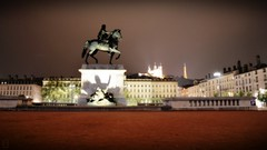 Louis XIV Statue - Place Bellecour (Explored) (DigiJack Photography) Tags: city urban france photography spring nikon lyon 1855mm 18mm louisxiv bellecour fourvire nikond3200 d3200 digijack