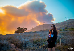 Fire! Red Sun through Smoke: Malibu / Ventura Fire May 2013 Stills & Video (45SURF Hero's Journey Mythology Goddesses) Tags: park santa sunset red wild anna orange cloud sun black yellow lens fire 50mm prime grey model nikon with purple shot state leo smoke south country north surreal windy eerie canyon brush malibu burning pch sycamore april blaze unreal nikkor camarillo winds epic ventura blocking afs wildfire carillo d800 clouded 2013 f14g ventur 45surf d800e