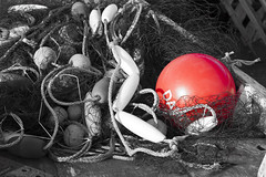 Red Buoy (mh_Scarborough2013) Tags: buoyant yearend13
