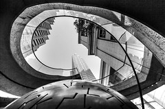 BLIND EYE SEES (Rober1000x) Tags: sanfrancisco california eye tower architecture arquitectura towers financialdistrict embarcadero 2013 embarcaderotowers