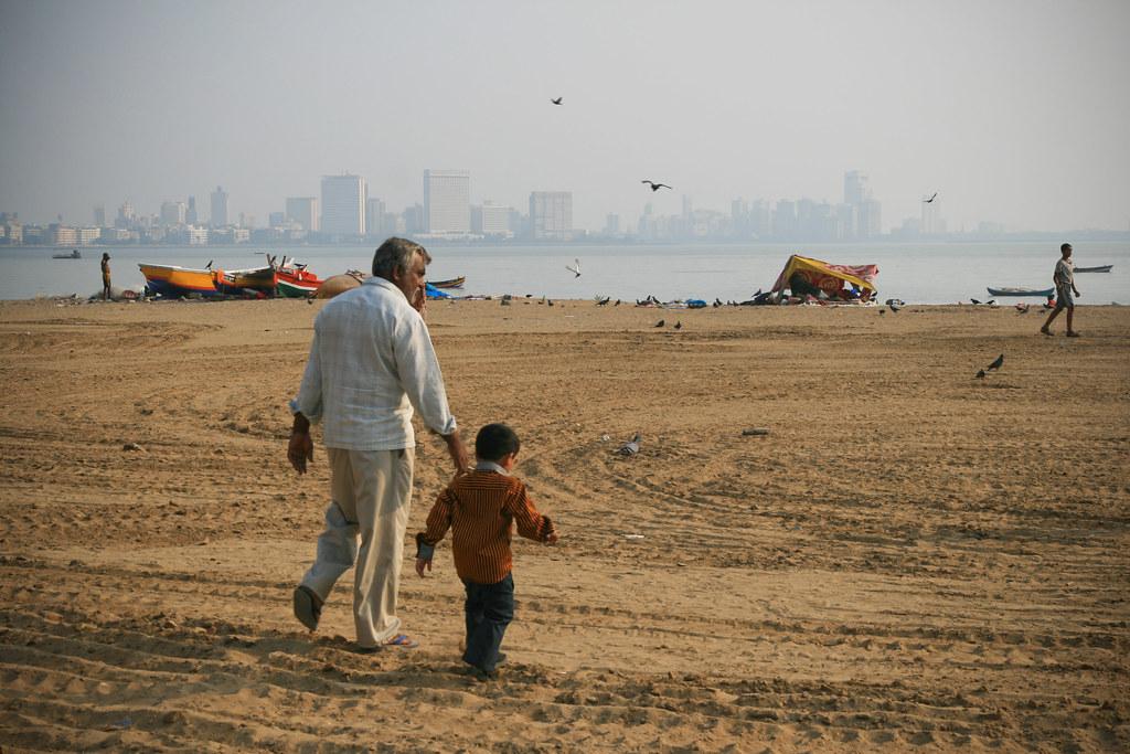 Chowpatty Beach - Mumbai