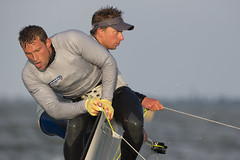 Delta Lloyd Regatta 2013  Sander van der Borch (BritishSailingTeam) Tags: netherlands europe thenetherlands olympic medemblik nld 49er deltalloyd olympicclasses deltalloydregatta eurosafchampionssailingcup