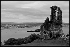 Mount Edgecombe (Jimhop51) Tags: landscape coast blackwhite ruins mountedgecombe blinkagain elementsorganizer