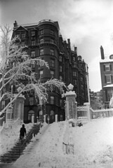 020669 22 (ndpa / s. lundeen, archivist) Tags: park trees houses homes winter people blackandwhite bw house snow storm building 1969 film monochrome boston stairs 35mm buildings ma blackwhite massachusetts nick steps snowstorm pedestrian 1960s february common snowfall blizzard bostoncommon snowcovered beaconstreet winterstorm dewolf heavysnow bigsnow coveredinsnow recordsnowfall recordsnow joystreet nickdewolf photographbynickdewolf