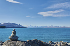Mount Cook, Lake Pukaki (@robinlautier) Tags: landscape seascape sea ocean paysages nikon travel trip mountain montagne lake lac nz newzealand