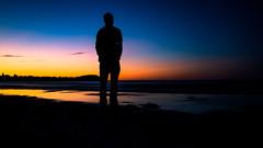 DSC02524 (kornflakezzz) Tags: strand beach sonne sun sunset sonnenuntergang farben color colors silluette schatten shadow meer ocean people leute menschen dmmerung norden baltic sea ostsee sony alpha a57 langzeitbelichtung