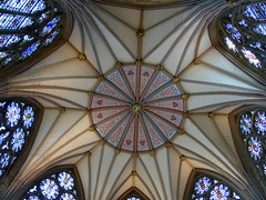 Chapter House roof York Minster (Jane.Des) Tags: york minster chapter house roof