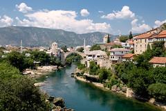 Mostar (Ulrich J) Tags: mostar byrum bosnien bro flod bosniaandherzegovina bridge cityscape