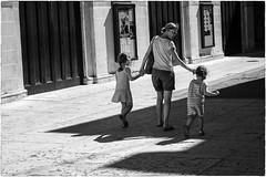 A peaceful day (Roberto Spagnoli) Tags: mamma madre mother figlio son people fotografiadistrada streetphotography biancoenero blackandwhite 50mmcanon maternity love amore