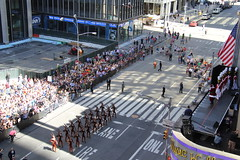 Celebrating Christmas in August at Radio City Music Hall with the Rockettes and Santa (AndrewDallos) Tags: nyc manhattan new york city christmas rockettes santa august