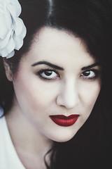 mia 01 (MargaritaP.) Tags: portrait portaits people beauty girl woman brunette red redlips snowwhite