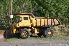 Cat 769 Rock Truck (Trucks, Buses, & Trains by granitefan713) Tags: cat caterpillar equipment heavyequipment oldequipment oldiron heavyiron cat769 769 haultruck rocktruck quarrytruck