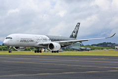 Airbus Industrie - F-WWCF - Farnborough Airport (FAB/EGLF) (Andrew_Simpson) Tags: fwwcf airbusindustrie airbus a350900 a350 350900 350 carbonlivery carbo speciallivery special logojet logo farnboroughairport fanrboroughinternationalairport farnboroughinternational farnboroughairshow farnboroughinternationalairshow farborough fab eglf hampshire airshow airdisplay fia fia16 fia2016 uk aircraft aviation avgeek avporn aviationgeek aviationporn planepic planephoto planes plane aircraftpic airplane aeroplane unitedkingdom gb greatbritian england