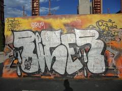 067 (en-ri) Tags: reser tots crew 2016 argentot nero torino wall muro graffiti writing parco dora