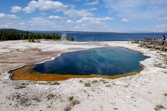 Abyss Pool (YuriZhuck) Tags: us usa wy wayoming yellowstone nature landscape geyser spring geothermal park