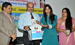 Actress Sanjjanaa-For a social cUse @ an eve donation camp for a charity social cause (1)