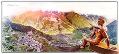 Mirador - Roc del Quer (Unos y Ceros) Tags: pirineos esculturadecrtex miradordelrocdequer 500metros canillo and textura luz unosyceros 2016 lightroom nikond700 zaragons zaragoneses
