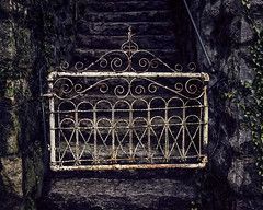 White Gate (engjoneer) Tags: canonetgiiiql17 ektar100 film gate
